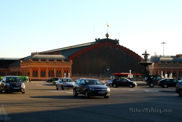 Estación de Atocha - Plaza del Emperador Carlos V