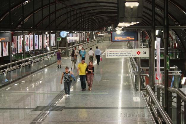 Estación de Cercanías de Renfe en SOL