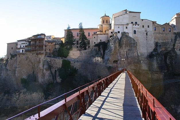 Casas Colgadas desde el Puente de San Pablo